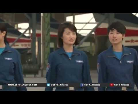 Female pilots to fly China's most advanced fighter jets | #WorldNews