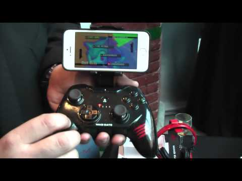 MWC 2014: MadCatz BT Game Controller For IOS And Android