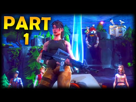 Fortnite Save The World (PvE) Blind Gameplay Walkthrough Playthrough Let's Play (50% Discount) #1