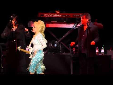 "Dolly Parton ""White Limozeen"" Blue Smoke tour at AECC, Aberdeen 15th June 2014"