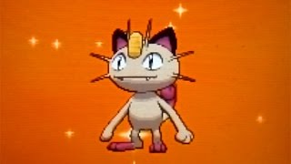 [LIVE!] Shiny Meowth hatched after just 70 eggs on Pokemon X!