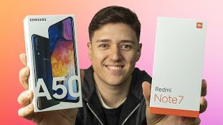 Galaxy A50 vs Redmi Note 7, ¿cuál elegir?