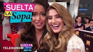 Suelta La Sopa   Miss Venezuela pellizcó a Miss Colombia   Entretenimiento(Video oficial de Telemundo Suelta La Sopa. Lo más destacado de Miss Universo y del triunfo de Miss Francia como la reina del certamen. SUBSCRIBETE: ..., 2017-01-30T22:14:00.000Z)