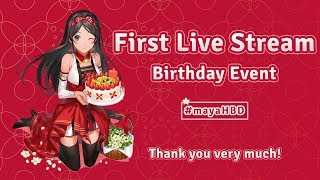 [LIVE] Maya Putri Birthday Countdown Live Streaming