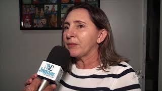 Bia Martins fala da ordem de serviço unidade básica de saúde na Lagoa das Carnaúbas