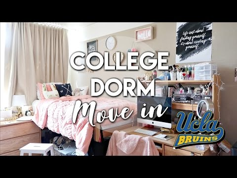 UCLA Dorm Move-In 2017! ♡ (New Dorm, Deluxe Double Room)
