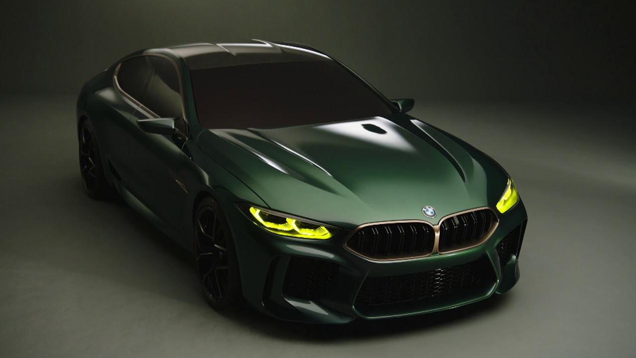the all new bmw concept m8 gran coupe youtube. Black Bedroom Furniture Sets. Home Design Ideas
