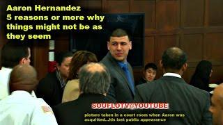 AARON HERNANDEZ SUICIDE OR MURDER?  You be the judge