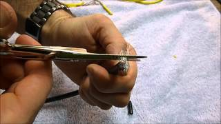 How to Strip: CAT-5 & COAXIAL CABLE - Klein Electrician Scissors