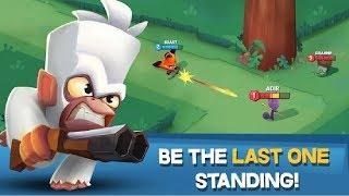 Стартовый набор Битва животных! мультяшный пабг! Zooba Free For All Battle Game #2