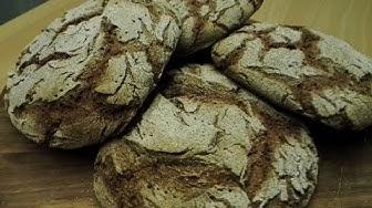Ruisleipä 100% - ruisleivän valmistus juuresta sähköuunissa - Home made Rye bread