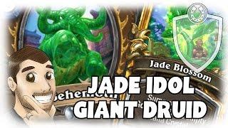 [Hearthstone] Jade Idol Golem Giant Druid