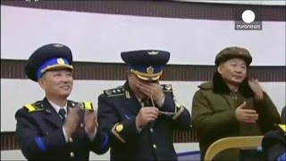 Raw footage: N.Korea military cry as test missile launches successfully