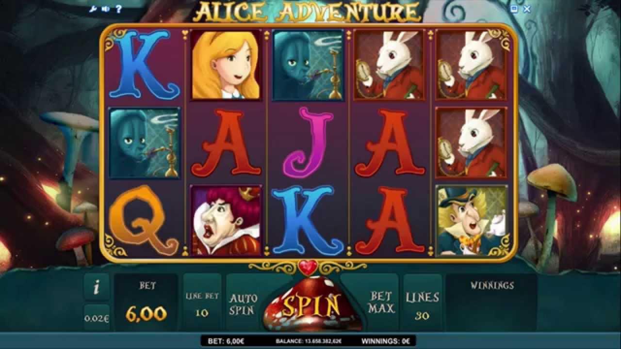 Tips alice adventure slot machine online isoftbet online