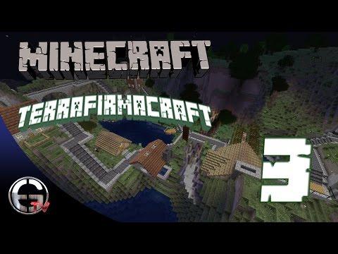 Minecraft - TerraFirmaCraft - Bölüm 3 - YENİDEN DOĞUŞ !!! (w/Yeşildev)
