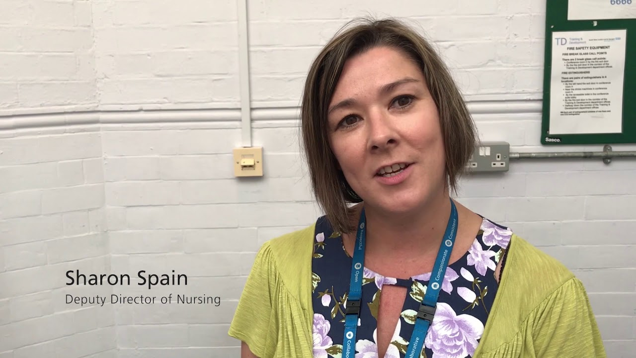 NHS 70 - Sharon Spain, Deputy Director of Nursing