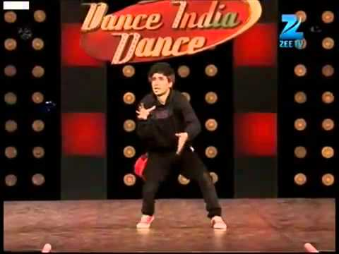 Crocroach Raghav   Dance India Dance  3 Mega Audition   YouTube