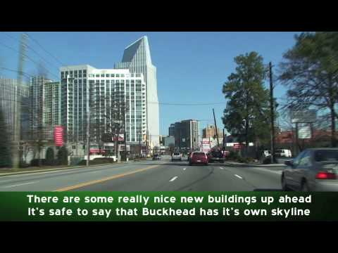 Atlanta GA: Peachtree Road Through Buckhead