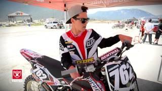 Blake Savage rides the 2013 Husqvarna 144.