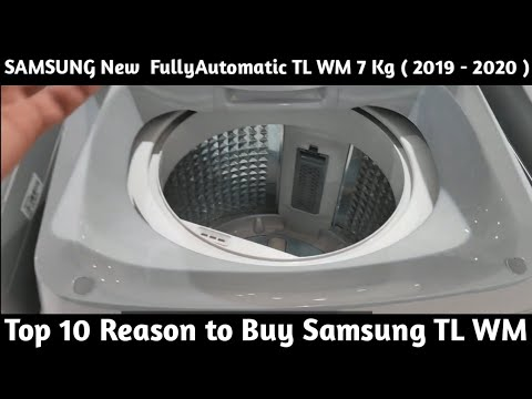 Samsung New Fully Automatic Top Loading Washing Machine 7.o Kg. Top 10 Reason to Buy.