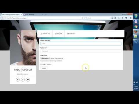Tutorial Web Design (ep 10) : Formularul De Contact