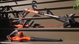 The POWERCOMMAND™ Family of Outdoor Tools from BLACK+DECKER