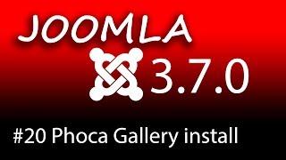 Homepage erstellen mit Joomla 3.7 - Phoca Gallery installieren  [1080p HD]