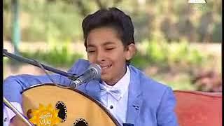 طفل يغنى للهضبة ' عمرو دياب ' ميدلى ' نغمة الحرمان + أمنتك ' بصوت واحساس فوق الوصف