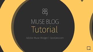 QooQee Muse Blog Tutorial