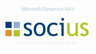 NAV 2016 Chart of Accounts and Dimensions