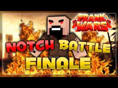 INSANE NOTCH BATTLE! (Minecraft | Prank Wars SEASON FINALE #12)
