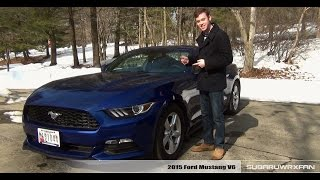 Review: 2015 Ford Mustang V6