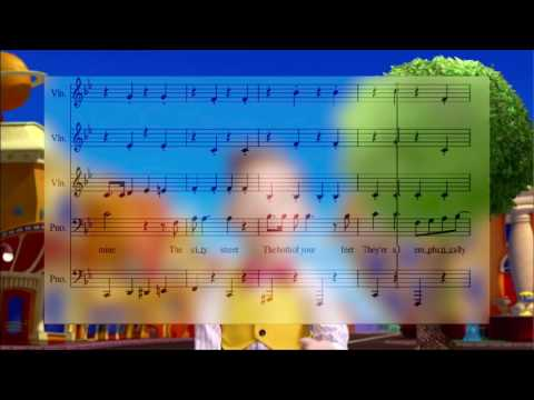 The Mine Song but it's a Bach Chorale that follows the conventions of the Common Practice Period