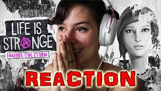 LIFE IS STRANGE: BEFORE THE STORM REACTION