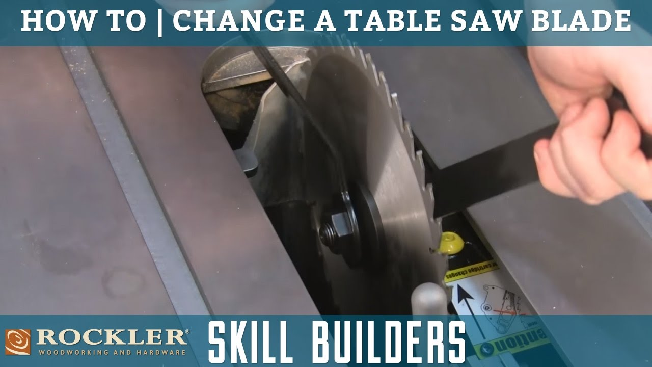 How to change a table saw blade rockler skill builders youtube how to change a table saw blade rockler skill builders greentooth Image collections