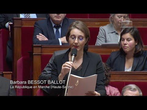 Barbara Bessot Ballot, Questions au gouvernement 29 novembre 2017