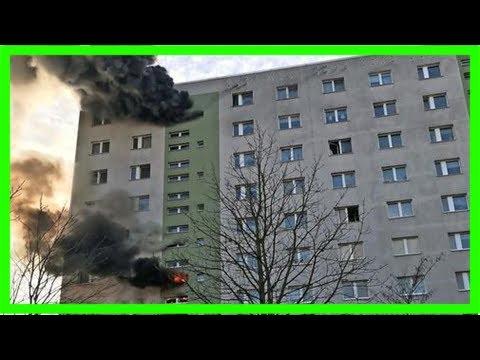 Feuer in berlin – 22 verletzte bei hochhausbrand – haz – hannoversche allgemeine