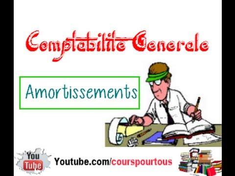 Amortissements : Comptabilite generale