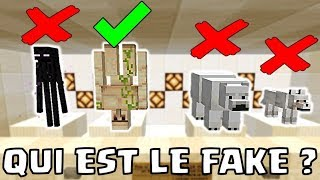 TROUVE QUI EST LE FAUX MOB MINECRAFT 1.14 ! *VIDEO INTERACTIVE*