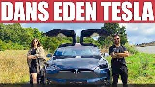 Dans Eden Araba Tesla Model X | Hilal Aysal İle Kullandık