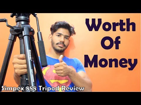 Best Tripod For DSLR Camera | Simpex VCT 888 Tripod Review In Hindi