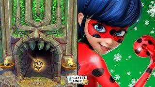 Temple Run 2 [CANDLESTICK MADNESS! Challenge] VS Miraculous Ladybug & Cat Noir