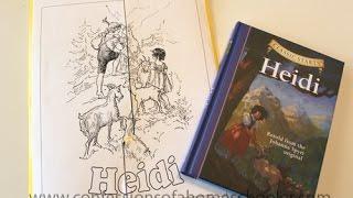 Heidi Unit Study Thumbnail