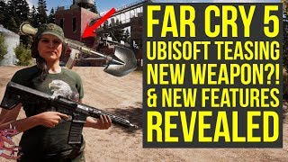 Far Cry 5 Update New Features REVEALED & New Weapon TEASED?! (Far Cry 5 DLC - Far Cry 5 Weapons)