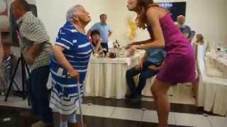 Баба Лида зажигает на свадьбе внука!