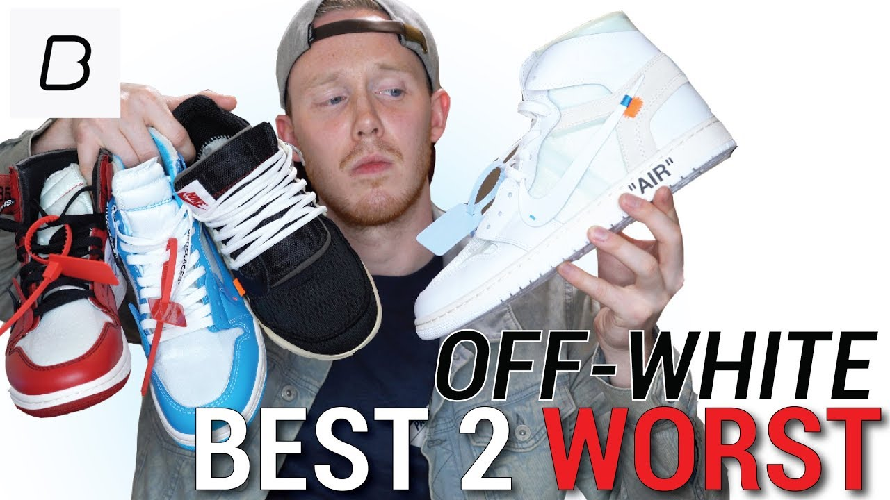 ENTIRE OFF WHITE X NIKE COLLECTION RANKED WORST TO BEST   THEIR RESALE  VALUES b60ecae80