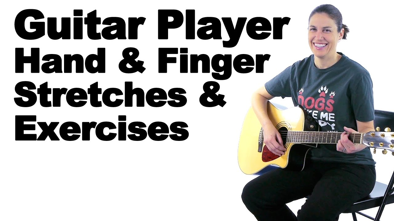 Finger Stretching Exercises Without the Guitar