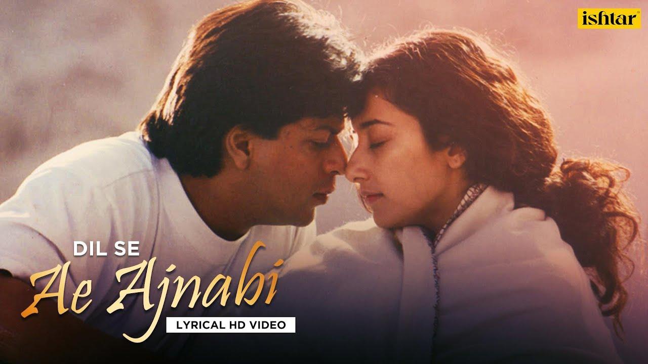 Ae Ajnabi - Official Lyrical Videos | Dil Se | Udit Narayan & Mahalaxmi  | A R Rahman