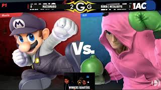 MastaMario (Mario) Vs. Ronin | Metalriff6 (Little Mac) Winners Quarters - Smash Ultimate