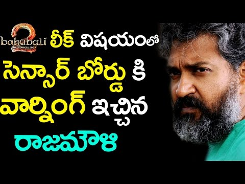 Rajamouli Warning To Censor Board About...